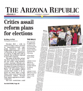 Arizona Republic Article